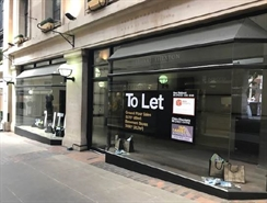 527 SF High Street Shop for Rent  |  19-21 Exchange Arcade, Nottingham, NG1 2DD