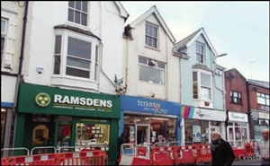 311 SF High Street Shop for Rent  |  24 Taff Street, Pontypridd, CF37 4UA