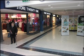 4,240 SF Shopping Centre Unit for Rent  |  Unit 66, Osborn Mall, Fareham, PO16 0PW
