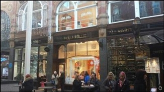 331 SF Shopping Centre Unit for Rent  |  The Victoria Quarter, Leeds, LS1 6BE