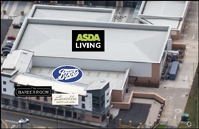 1,399 SF Retail Park Unit for Rent  |  Unit 7, Warwickshire Shopping Park, Coventry, CV3 2TA