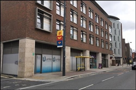3,211 SF High Street Shop for Rent  |  Unit 1, Hope Street/Myrtle Street, Liverpool, L1 9BP