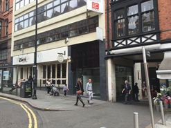300 SF High Street Shop for Rent  |  12a King Street, Nottingham, NG1 2AS