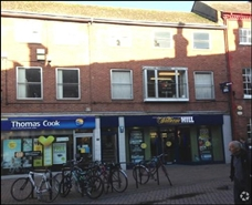 764 SF High Street Shop for Rent  |  4 St Peters Street, Hereford, HR1 2LA