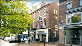 1,482 SF High Street Shop  |  51 - 52 Ironmarket, Newcastle Under Lyme, ST5 1PB