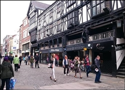 5,457 SF High Street Shop for Rent  |  14 - 16 Northgate Street, Chester, CH1 2HA