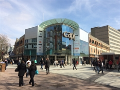 418 SF Shopping Centre Unit for Rent  |  Unit 4, Capitol Shopping Centre, Cardiff, CF10 2HQ