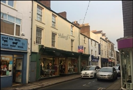 3,915 SF High Street Shop for Sale  |  61 - 65 High Street, Pwllheli, LL53 5RR