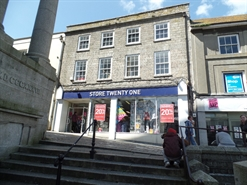 2,489 SF High Street Shop for Rent  |  38-39 Market Place, Penzance, TR18 2HZ