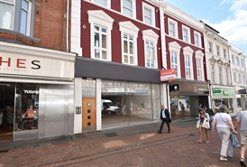 1,285 SF High Street Shop for Rent  |  84 Old Christchurch Road, Bournemouth, BH1 1LR
