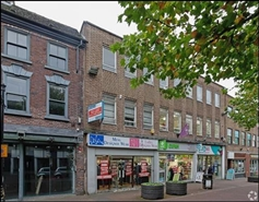 1,189 SF High Street Shop for Rent  |  54 Ironmarket, Newcastle Under Lyme, ST5 1PE
