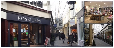 3,350 SF Shopping Centre Unit for Rent  |  33 Royal Arcade, Cardiff, CF10 1AE