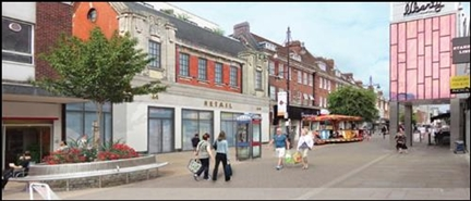 4,230 SF High Street Shop for Rent  |  Unit 2, Romford, RM1 1RB