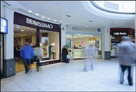 1,419 SF Shopping Centre Unit for Rent  |  Unit 7, Queens Arcade Shopping Centre, Cardiff, CF10 2BY