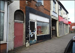 509 SF High Street Shop for Rent  |  1373 Pershore Road, Birmingham, B30 2JR