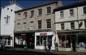 551 SF High Street Shop for Rent  |  21 Stricklandgate, Kendal, LA9 4LY