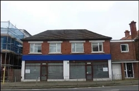 931 SF High Street Shop for Rent  |  97 - 99 Bury Road, Gosport, PO12 3PR