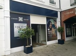 2,300 SF Shopping Centre Unit for Rent  |  7 Lisburn Square, Lisburn, BT28 1TS