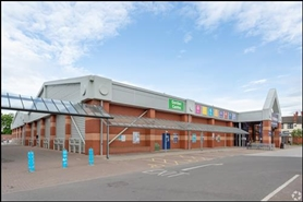 2,432 SF Retail Park Unit for Rent  |  Unit 5 (4), Nottingham, NG7 5QJ