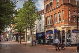 1,521 SF High Street Shop for Sale  |  17 Market Place, Rugby, CV21 3DU