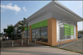1,800 SF High Street Shop for Rent  |  New Development The Parade, Newton Aycliffe, DL5 4DH