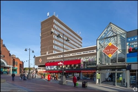 1,345 SF Shopping Centre Unit for Rent  |  Townend House, Walsall, WS1 1NS