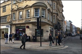 2,639 SF High Street Shop for Rent  |  St Georges Mansions, Oxford, OX1 3ES