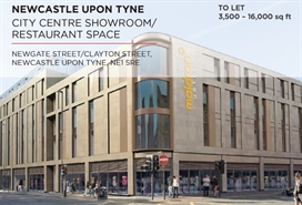 16,000 SF High Street Shop for Rent  |  Unit 1, Maldron Hotel, Newcastle Upon Tyne, NE1 5RB
