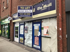 1,042 SF High Street Shop for Rent  |  86 Bradford Street, Walsall, WS1 1NU