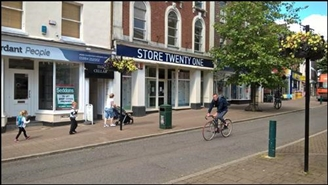 2,933 SF High Street Shop for Rent  |  14 Fore Street, Tiverton, EX16 6LH