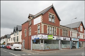 1,074 SF High Street Shop for Rent  |  45 - 47 Whitchurch Road, Cardiff, CF14 3JP