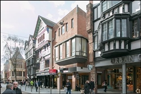 2,148 SF High Street Shop for Rent  |  228 High Street, Exeter, EX4 3LR
