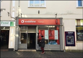 828 SF High Street Shop for Rent  |  13 Fore Street, Tiverton, EX16 6LW
