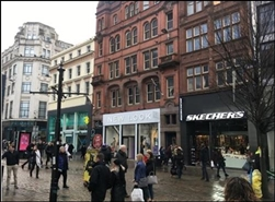 4,631 SF High Street Shop for Rent  |  90 - 100 Market Street, Manchester, M1 1PD