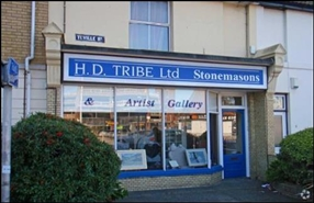 350 SF High Street Shop for Rent  |  1 Teville Road, Worthing, BN11 1UD
