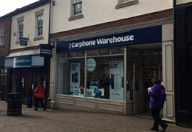 1,711 SF High Street Shop for Rent  |  15 Castle Walk, Newcastle Under Lyme, ST5 1AN