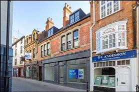 581 SF High Street Shop for Rent  |  45 - 47 Bridlesmith Gate, Nottingham, NG1 2GN