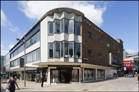 1,620 SF High Street Shop for Rent  |  64 The Moor, Sheffield, S1 4PA