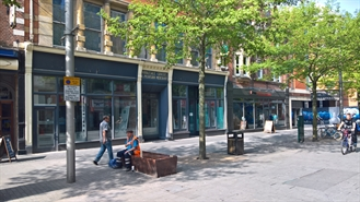 6,157 SF High Street Shop for Rent  |  Unit 1, 87-91 High Street, Leicester, LE1 4JB