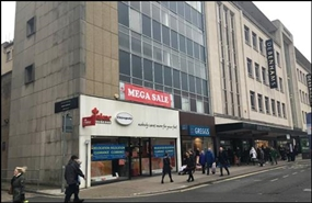 1,620 SF High Street Shop for Rent  |  29 The Horsefair, Bristol, BS1 3JL