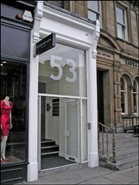927 SF High Street Shop for Rent  |  53 George Street, Edinburgh, EH2 2HT