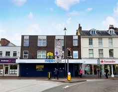 1,977 SF High Street Shop for Rent  |  13-15 Grosvenor Road, Tunbridge Wells, TN1 2AH