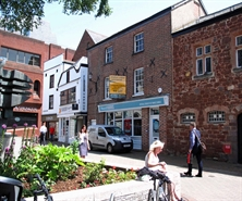 702 SF High Street Shop for Rent  |  15-16 Waterbeer Street, Exeter, EX4 3EH