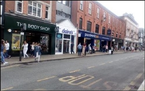 6,917 SF High Street Shop for Rent  |  32 - 38 Foregate Street, Chester, CH1 1HA