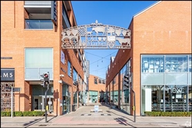 2,658 SF Shopping Centre Unit for Rent  |  Unit 28, Old Market, Hereford, HR4 9HR