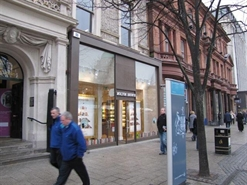 911 SF High Street Shop for Rent  |  16 Donegall Square, Belfast, BT1  5GB