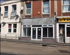 595 SF High Street Shop for Rent  |  28 Percy Terrace, Alexandra Road, Plymouth, PL4 7HG