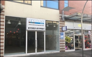 1,514 SF Shopping Centre Unit for Rent  |  Unit 24, Vancouver Quarter, Kings Lynn, PE30 1DS