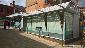 288 SF Shopping Centre Unit for Rent  |  Kiosk 2, Angel Yard, Carillon Court, Loughborough, LE11 3XA