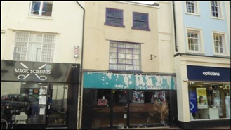 387 SF High Street Shop for Rent  |  10 Market Place, Rugby, CV21 3DU